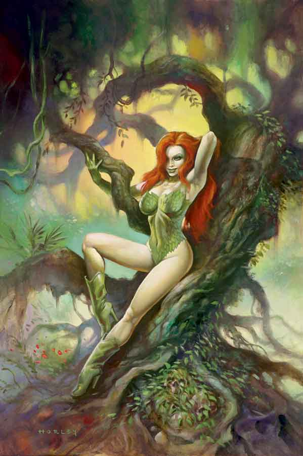 Poison Ivy Hot in Jungle