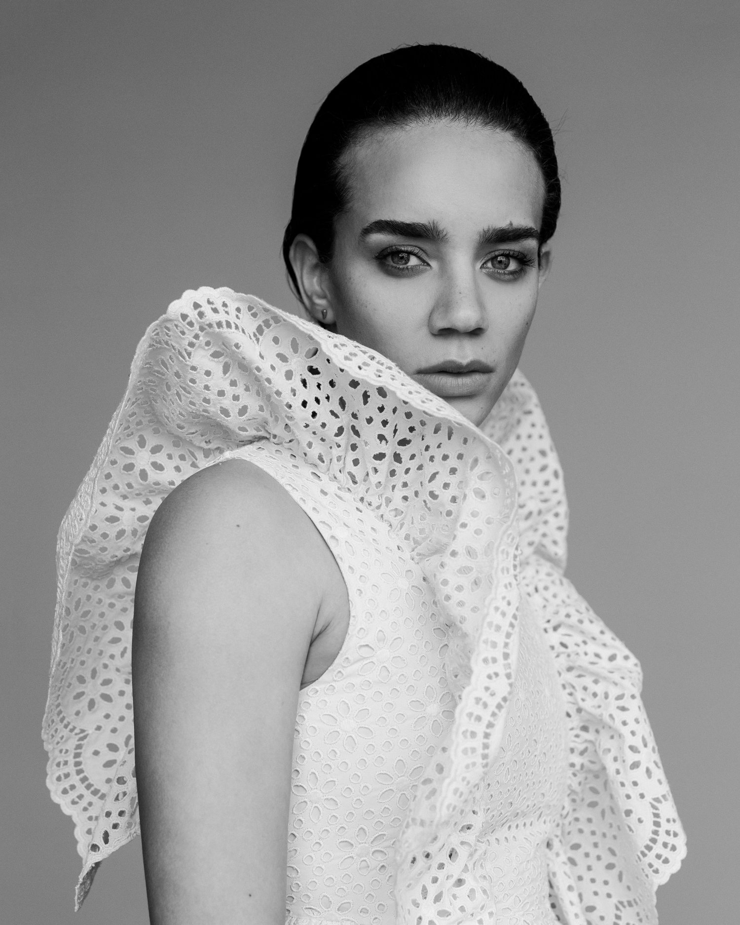 Hannah John Kamen in Photoshoot
