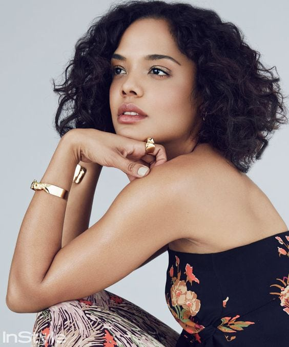Tessa Thompson on Photoshoot