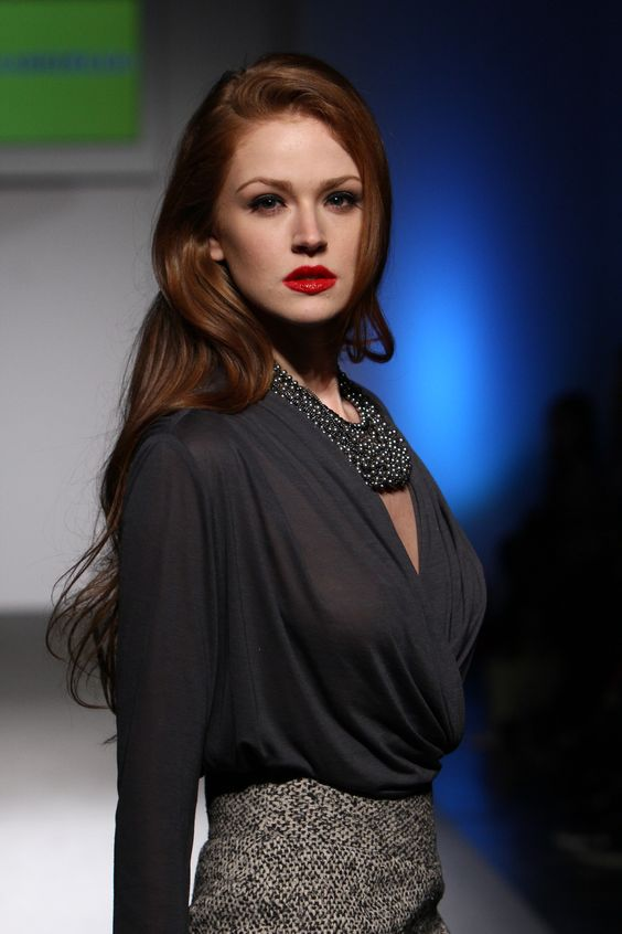 Maggie Geha Red Lips