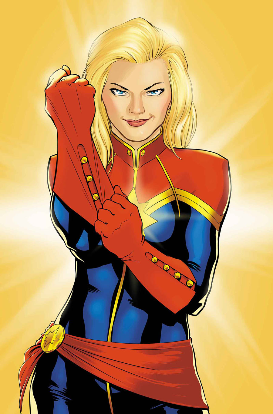 Captain Marvel Hot