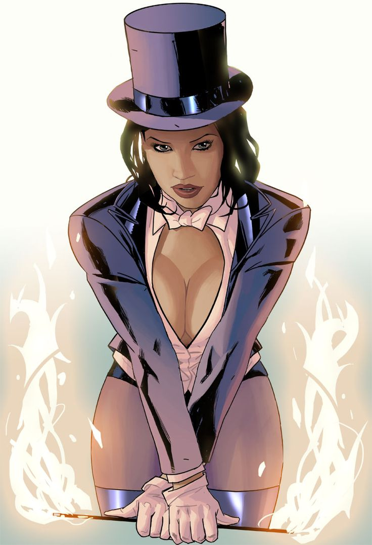 37 Hot Pictures Of Zatanna The Beautiful Magician And