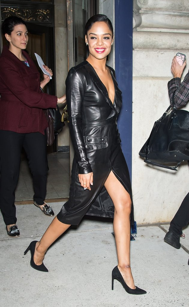 Tessa Thompson Sexy Legs