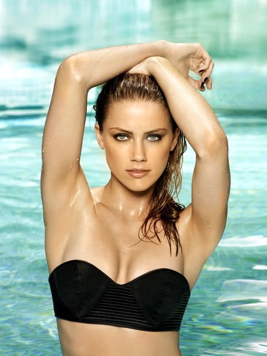 Amber Heard on Swimming Pool