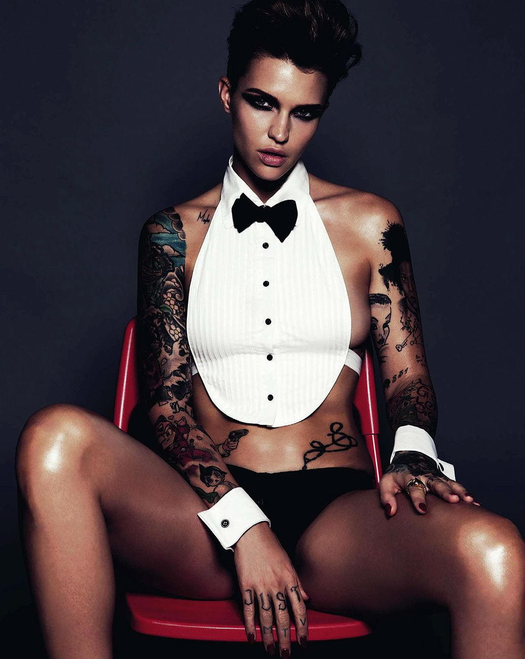 Sexy Ruby Rose nude photos 2019