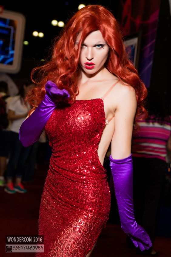Jessica Rabbit Hot in Red