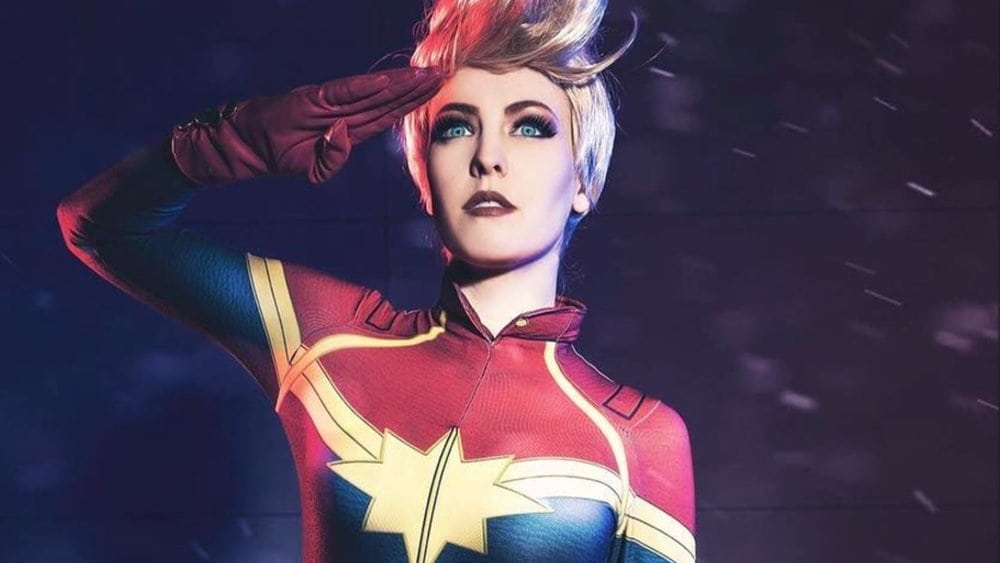 Captain Marvel Hot Pictures