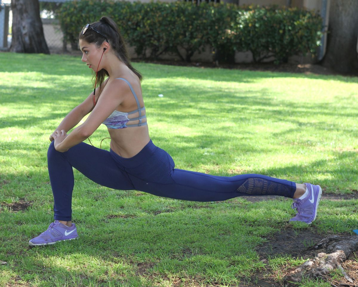 Kira Kosarin on Exercise