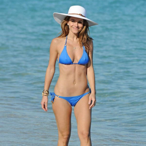 Kristen Wiig on Beach