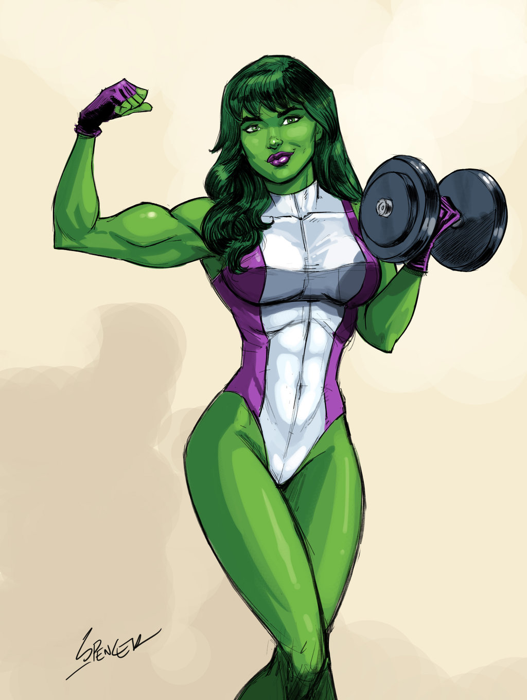 She Hulk workout