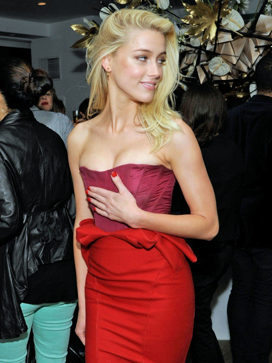 Amber Heard Party