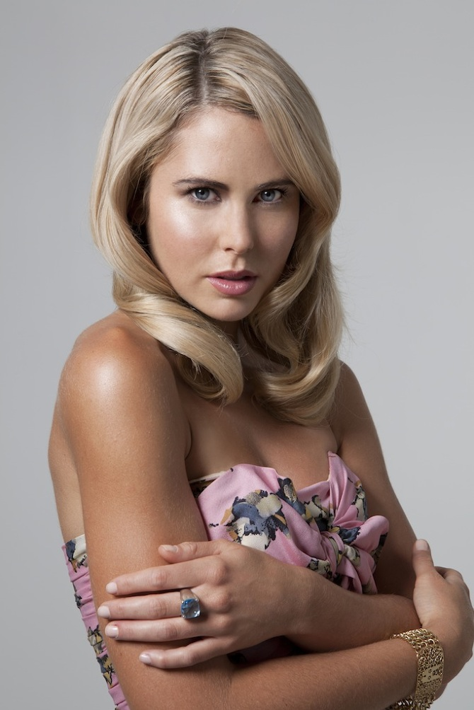 Anna Hutchison Blonde Hair