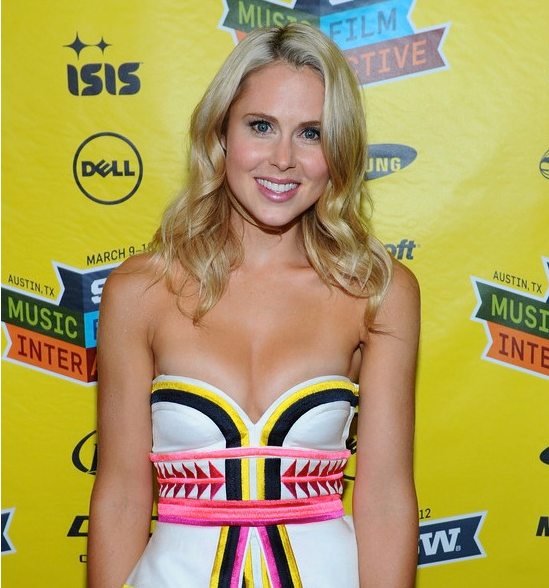 Anna Hutchison Cleavage