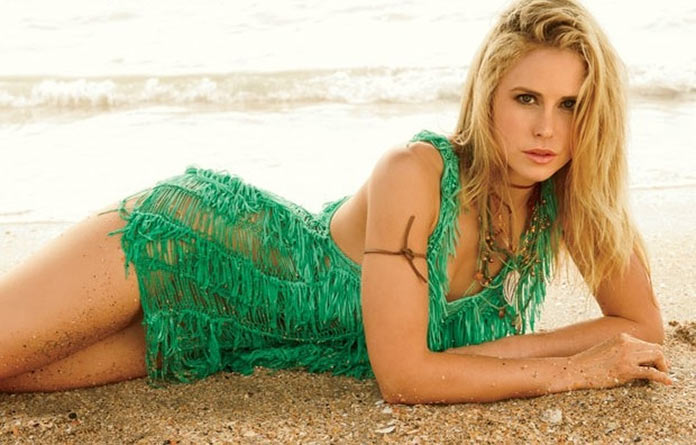 Anna Hutchison on Beach