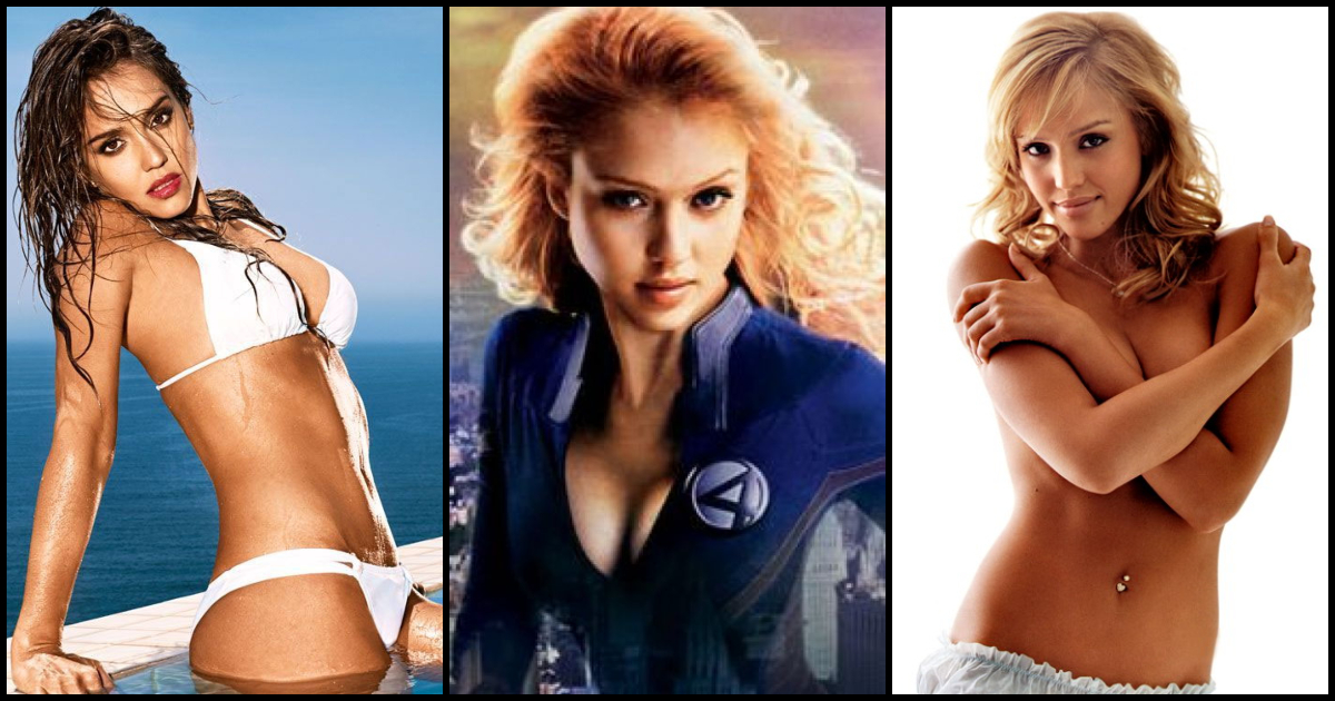 61 Hot Pictures Of Jessica Alba - The Susan Storm Aka -7203