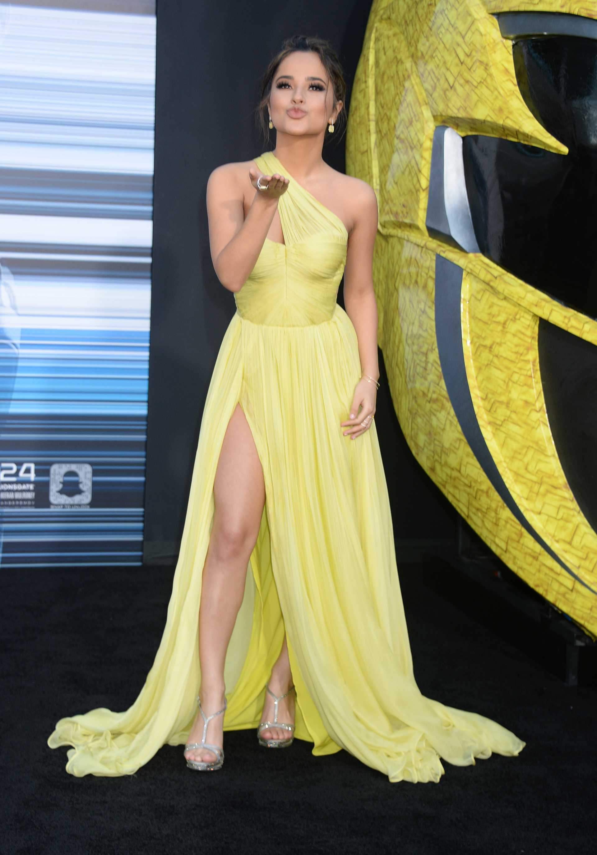 Becky G Yellow Dress