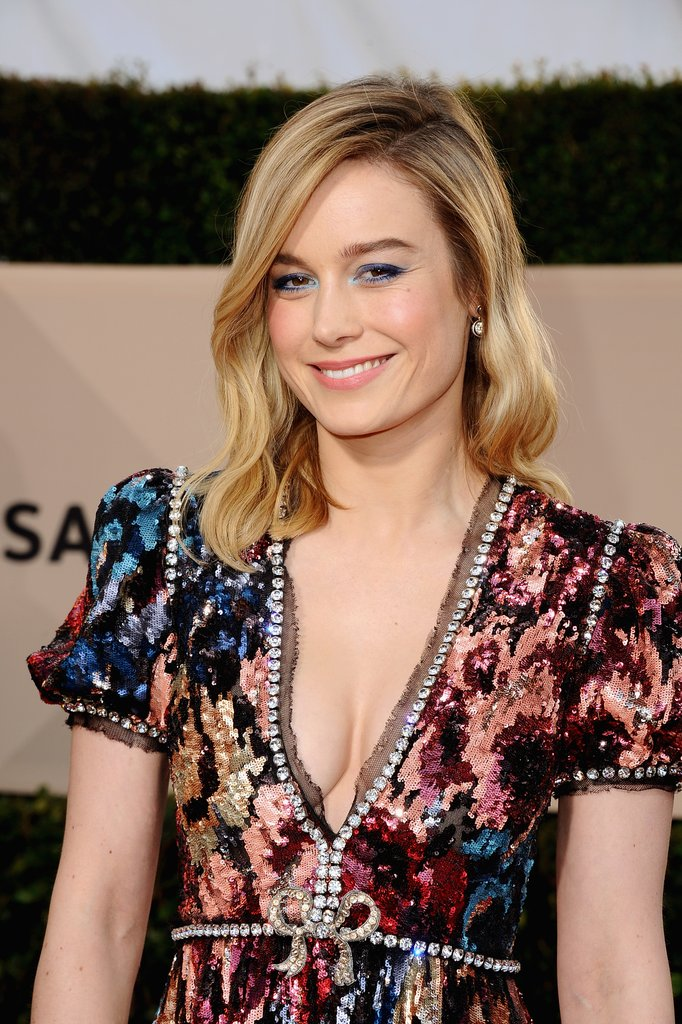 Brie Larson Blonde Hair
