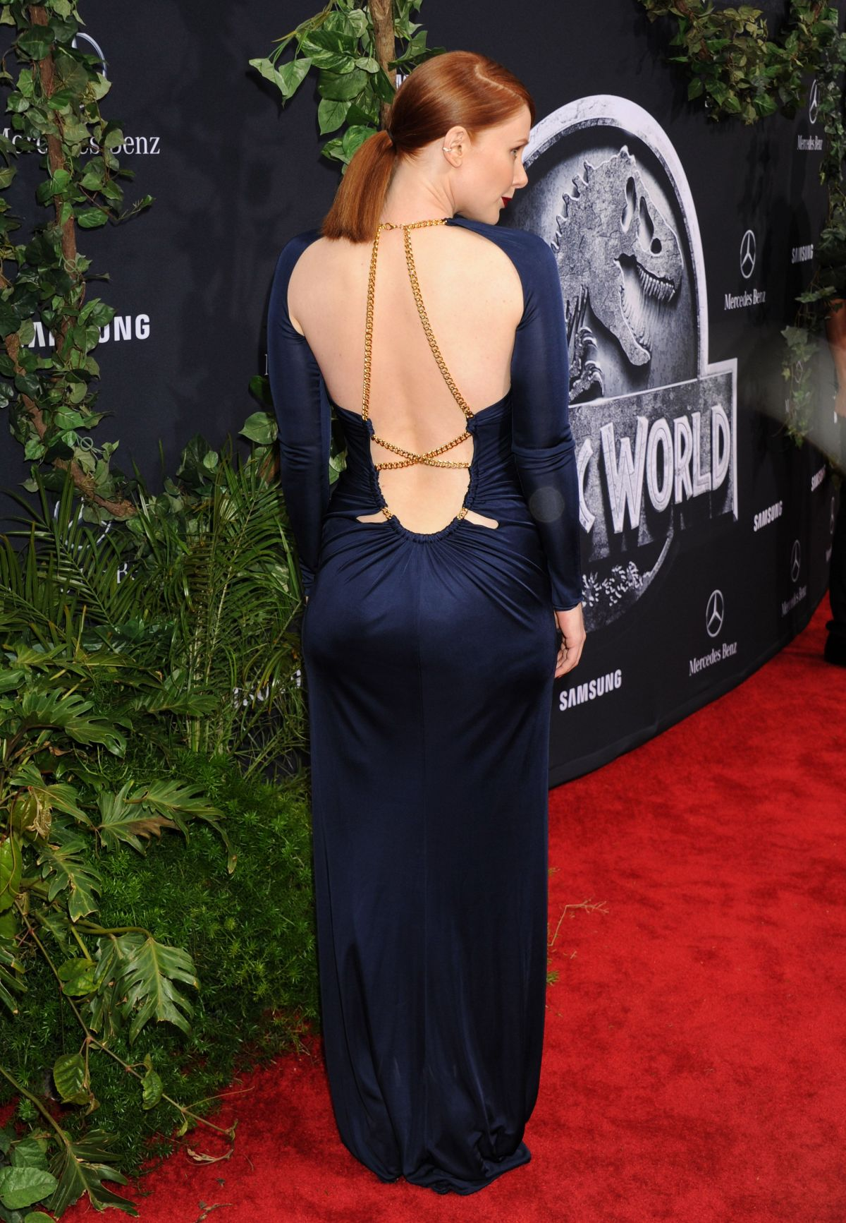 Bryce Dallas Howard Backless