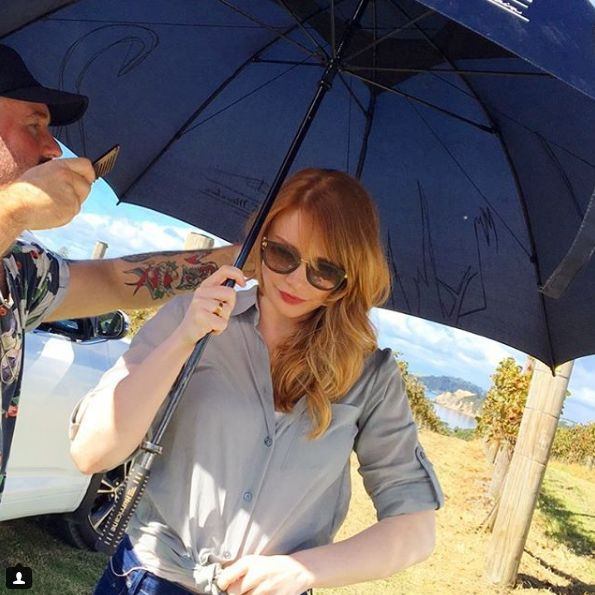Bryce Dallas Howard Shooting