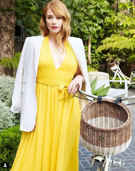 Bryce Dallas Howard Yellow Dress