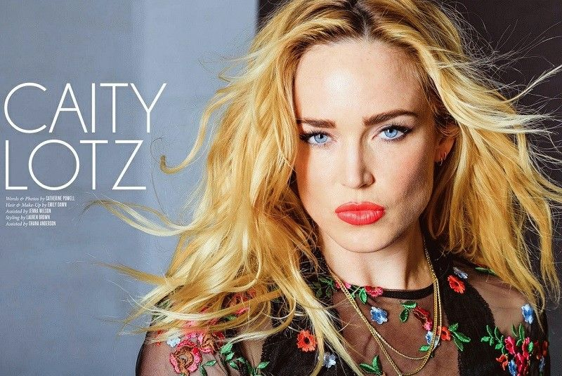 Caity Lotz Blue Eyes