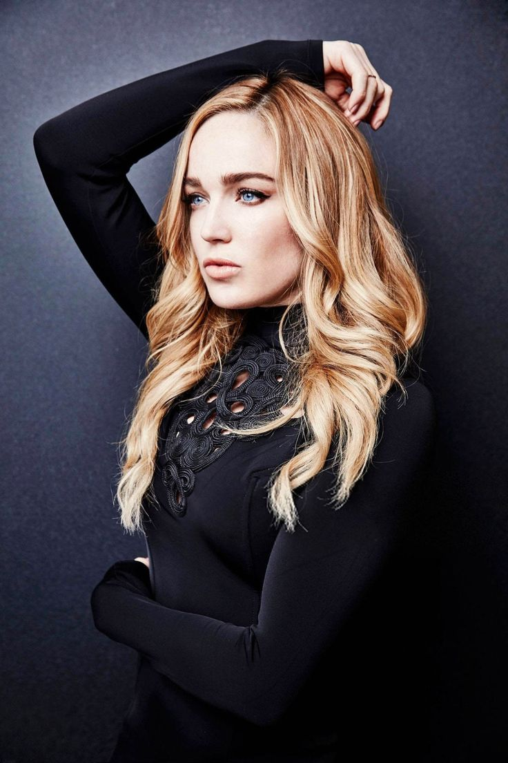 Caity Lotz Brown Hair