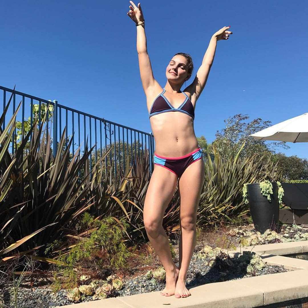 Camren Bicondova Beach