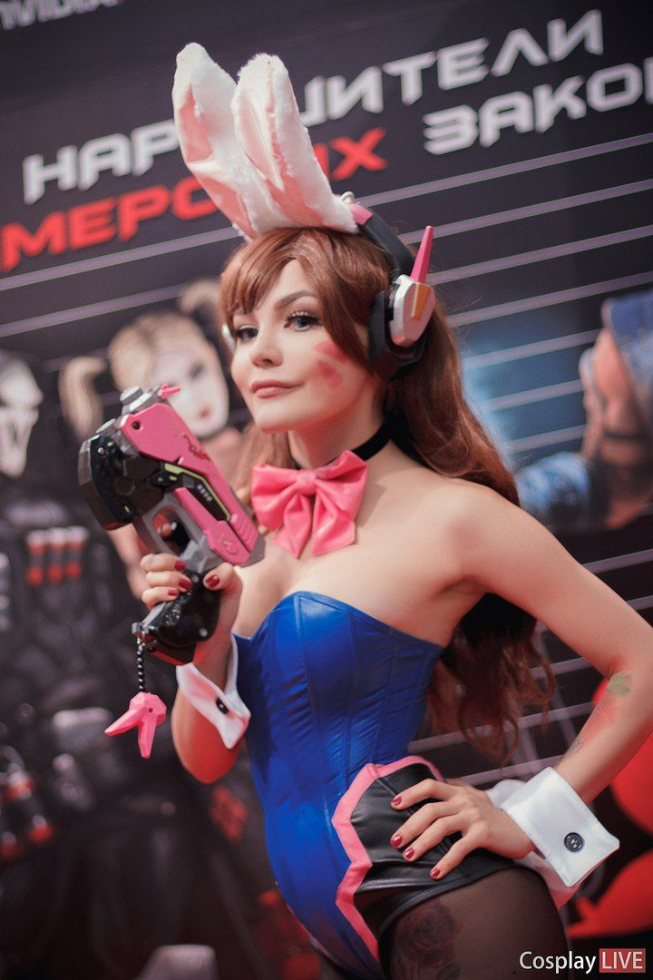 D.Va Hot Cosplay