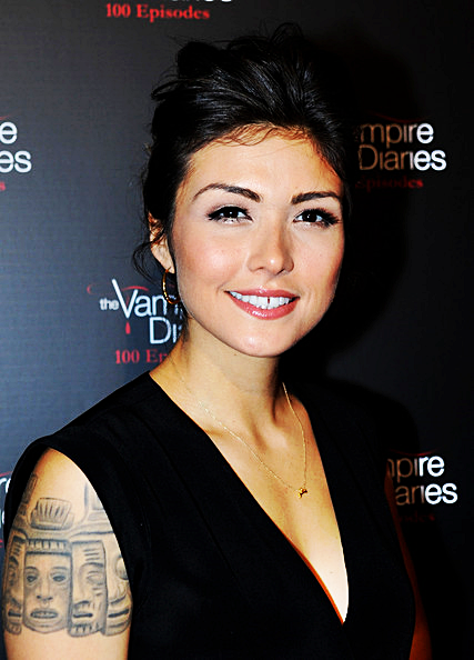 Daniella Pineda Smile