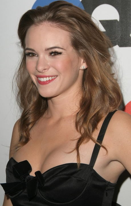 Danielle Panabaker Smiling