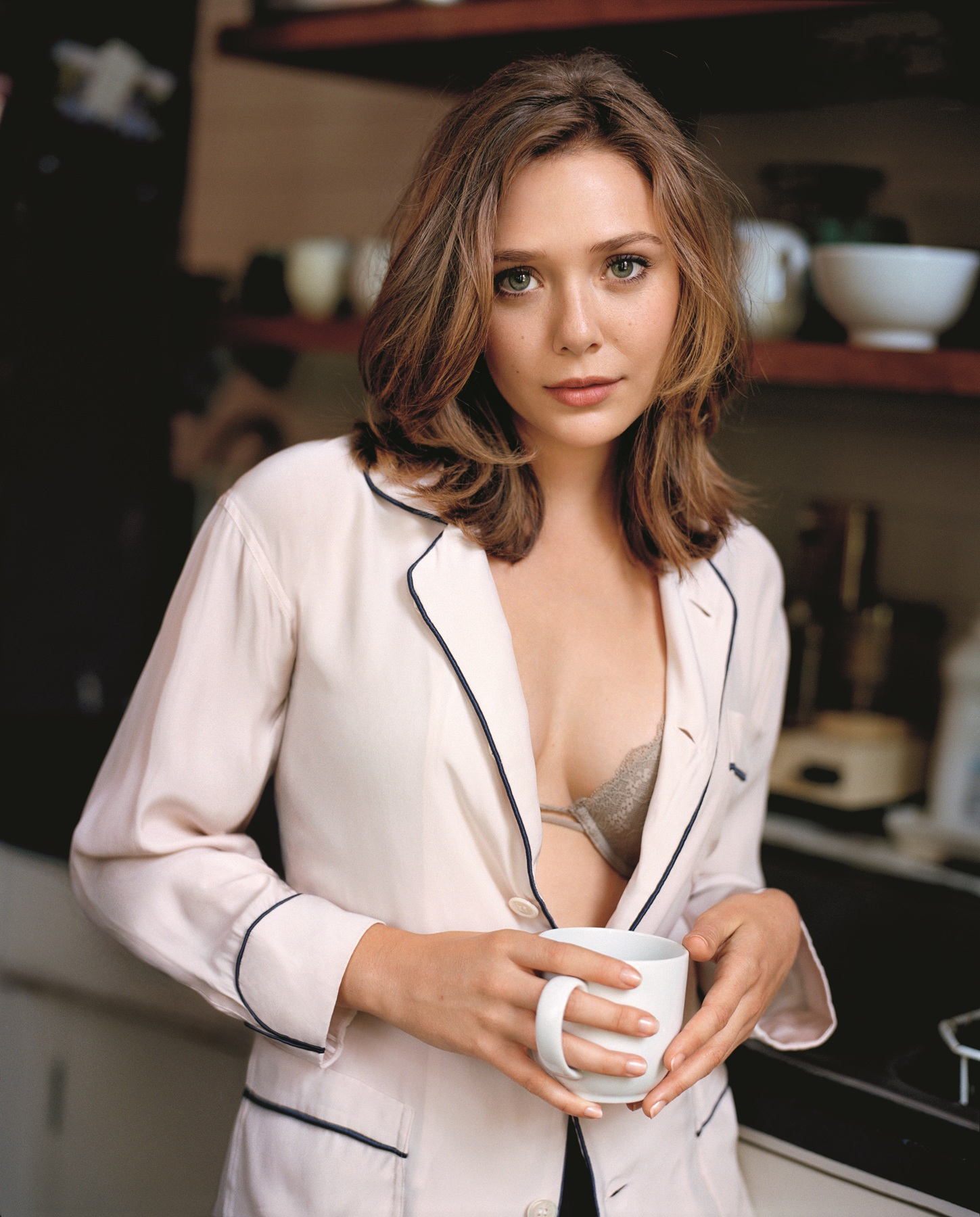 Elizabeth Olsen Hot in Bra