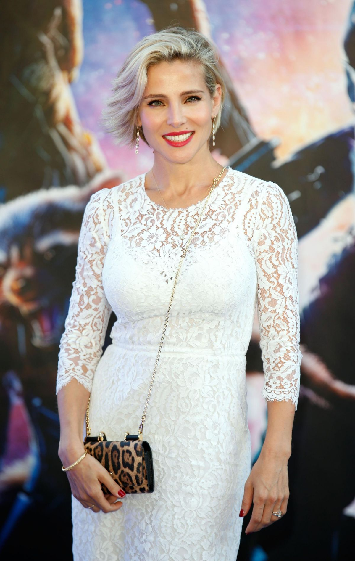 Elsa Pataky White Dress