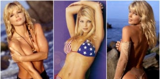 37 Hot Pictures Of Donna D'Errico - Sizzling Baywatch Babe