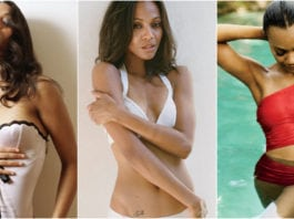 39 Hot Pictures Of Zoe Saldana - Gamora Actress In MCU
