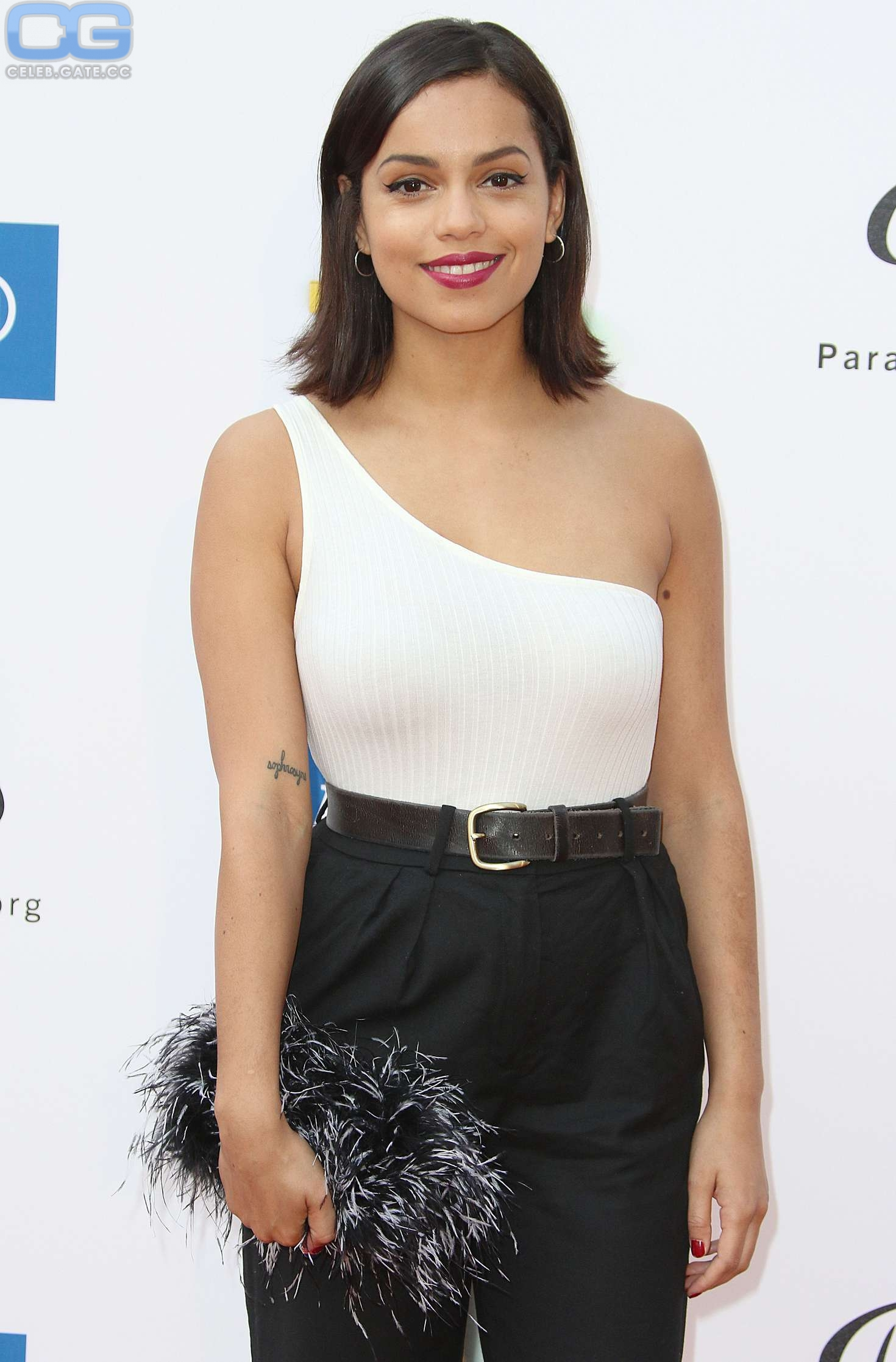 Georgina Campbell Braless