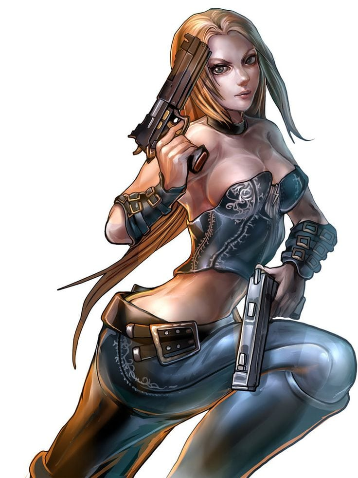 Hot Pictures Of Trish From Devil May Cry