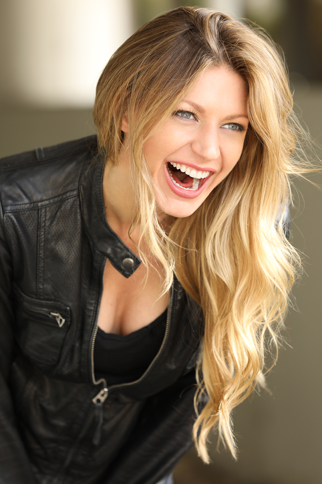 Jes Macallan Cleavage