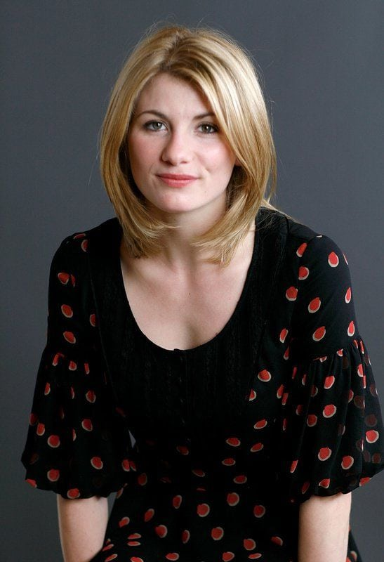 Jodie Whittaker Loves Black