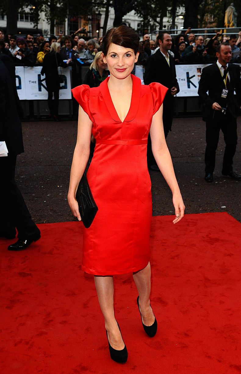 Jodie Whittaker Red Hot