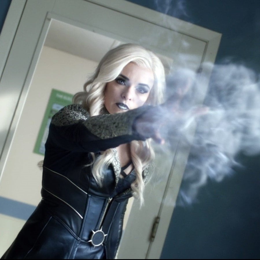KIller Frost Using Powers
