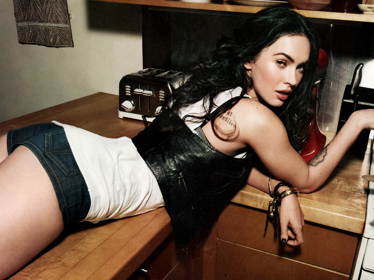 Megan Fox Home Alone