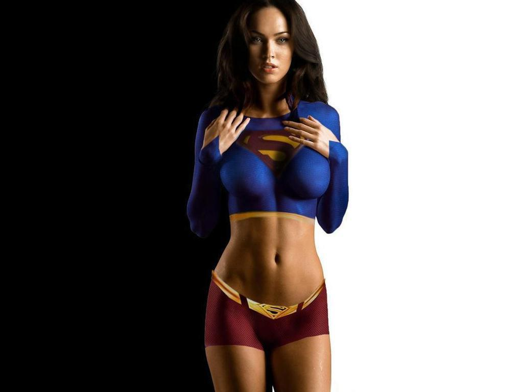 Megan Fox as Super Giurl