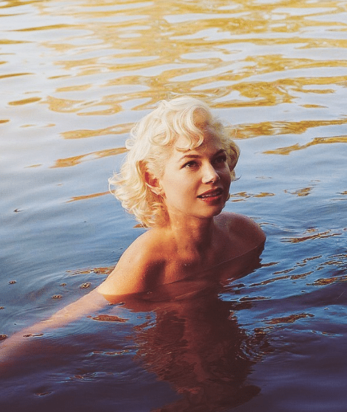 Michelle Williams In Water