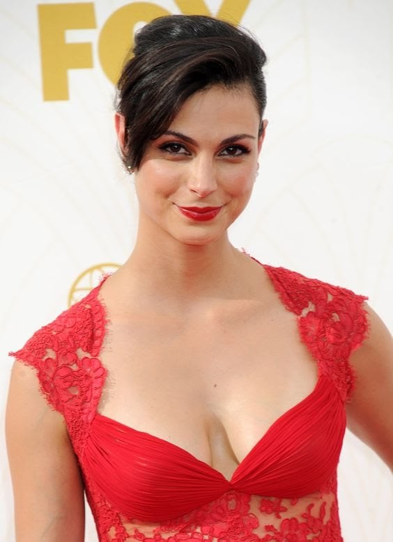 Morena Baccarin Sexy Red