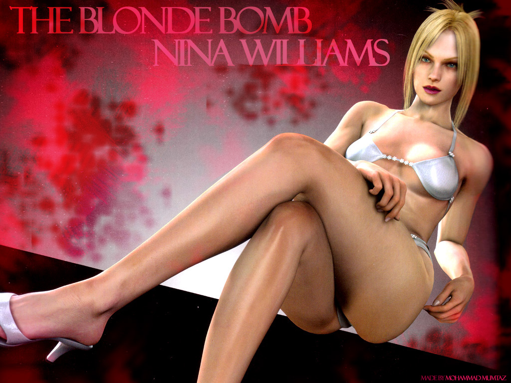 Nina Williams Blonde Bpomb