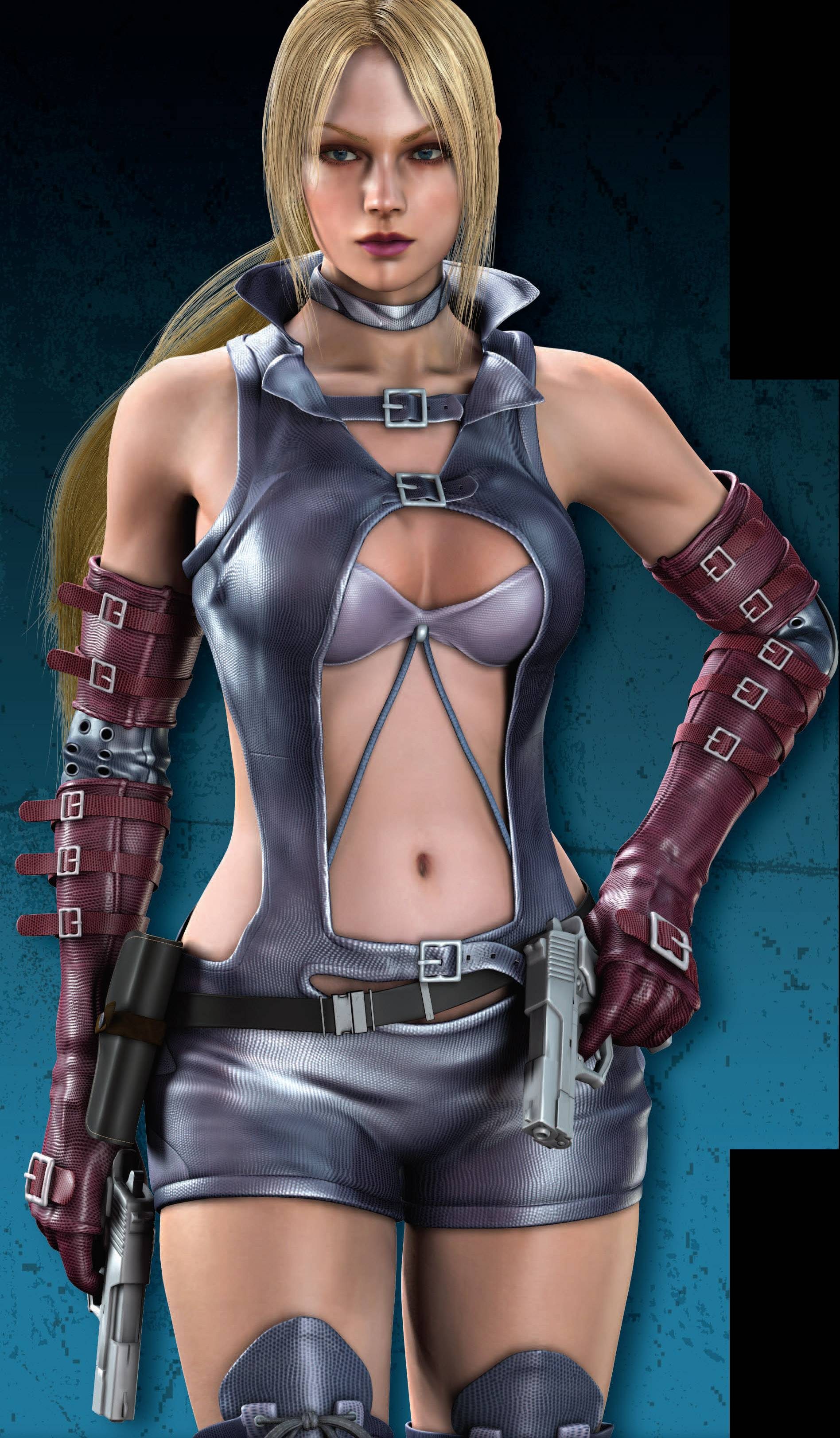 Nina Williams Sexy Dress