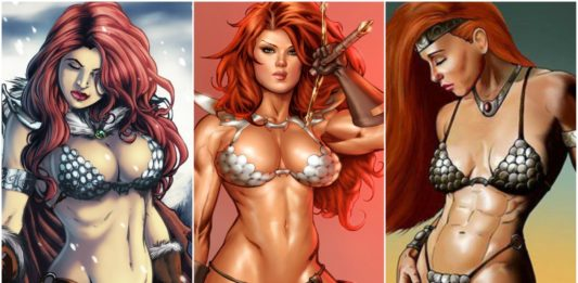 33 Hot Pictures Of Red Sojna - Hottest Swords And Sorcery Character Of All Time