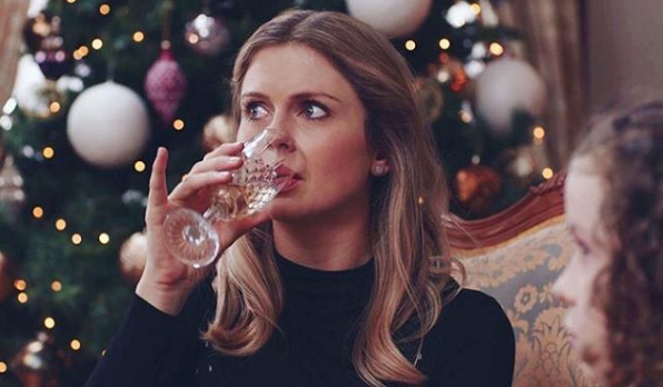 Rose McIver Drinking and Thinking