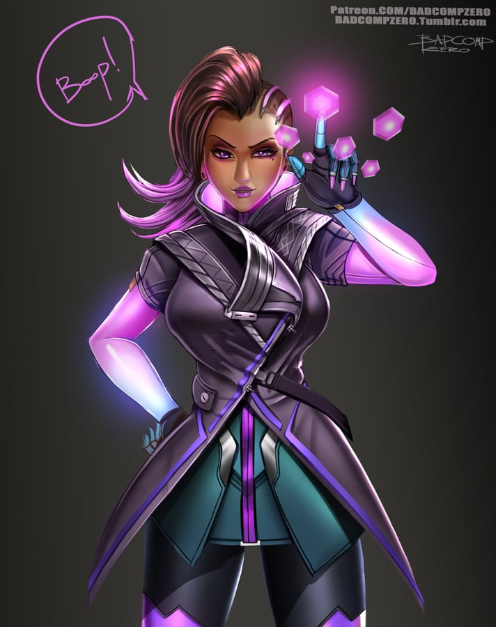 Sombra Awesome Look