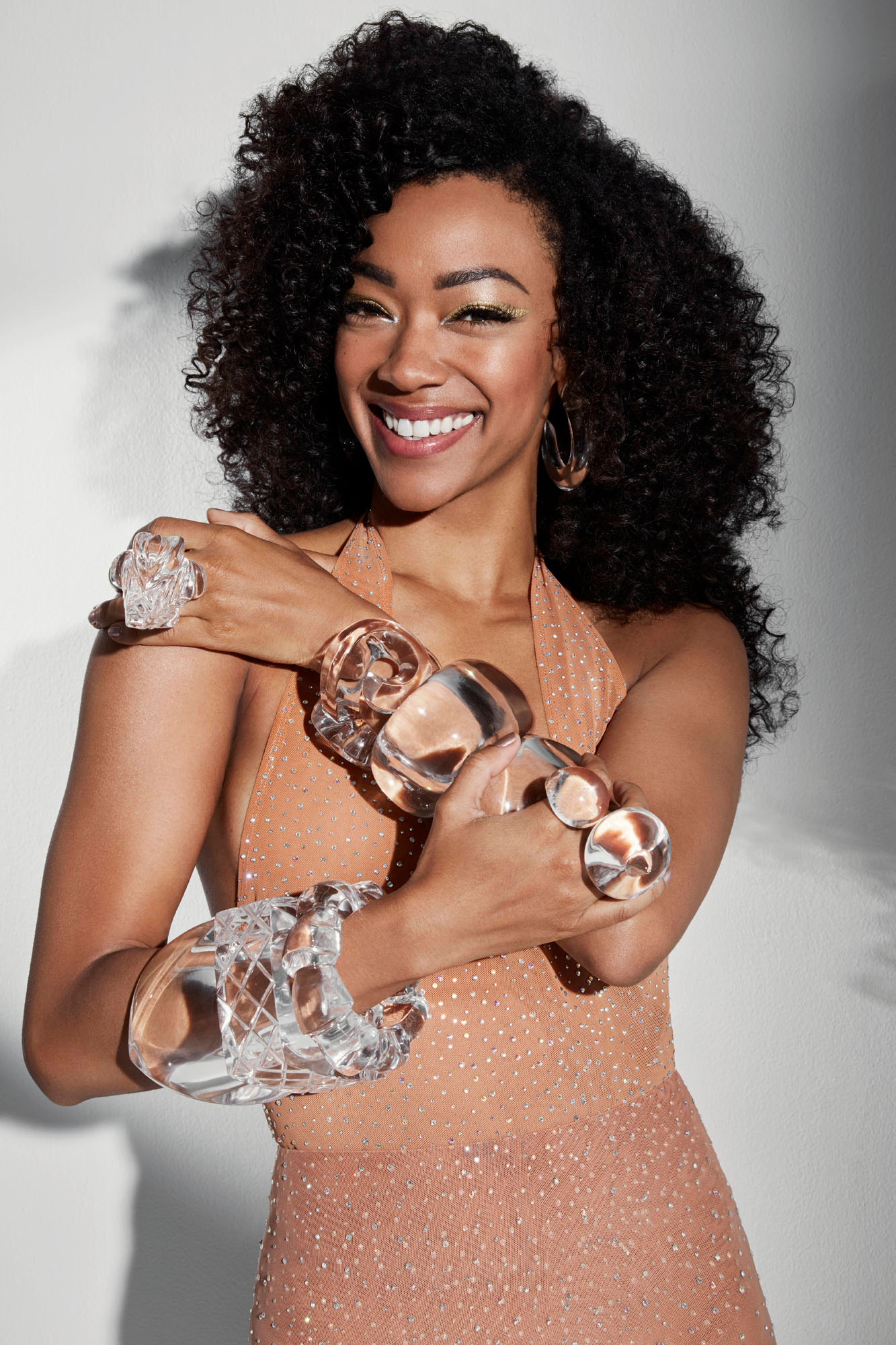 Sonequa Martin-Green Stars in CBS WATCH! Magazine Photo: Marie H Rainville / CBS 2017 © CBS Broadcasting Inc. All Rights Reserved.